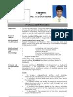 CV of Mamun_05112010