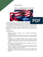 Conflicto del desbloqueo de Cuba, Las FARC y conflicto colombiano armado.