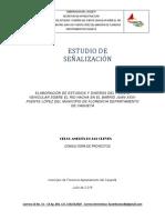 ESTUDIO DE SEÑALIZACION