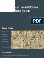 Organização Parental Romana (Roma Antiga)