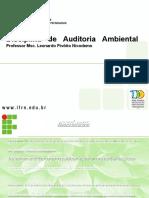 Aula 01- Ferramentas de Gerenciamento Ambiental- Auditoria Ambiental.ppt
