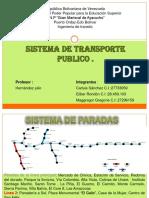 TRANSITO SISTEMA DE PARADAS