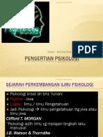 Materi 1(Pengertian Psikologi dan Psik Perkem)