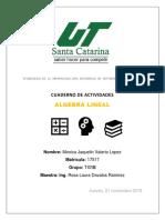 CUADERNILLO DE ALGEBRA LINEAL PARCIAL 1,2,3