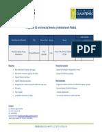 Información Maestría en Derecho Fiscal 2018