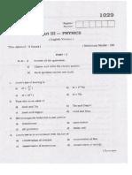 Plus2 March2008 Physics