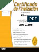 certificado WIX_ES_MASTER
