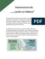 Infraestructura Educativa en Mexico