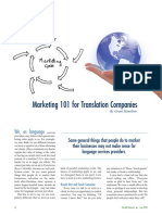 marketing for translators