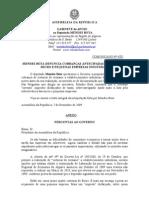 MB - COMUNICADO 4-XI - MENDES BOTA DENUNCIA COBRANÇAS ANTECIPADAS DO ESTADO ÀS PEQUENAS EMPRESAS INDUSTRIAIS