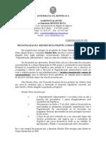 MB - COMUNICADO 5-XI - REGIONALIZAÇÃO - MENDES BOTA PROPÕE COMISSÃO EVENTUAL