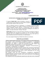 MB - COMUNICADO 21-XI - MENDES BOTA DEFENDE O RECONHECIMENTO DO CÃO DO BARROCAL ALGARVIO