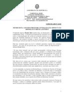 MB - COMUNICADO 24-XI - MENDES BOTA - GOVERNO PRETENDE CENTRALIZAÇÃO ABSOLUTA DA PROMOÇÃO TURÍSTICA EXTERNA