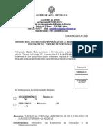 MB - COMUNICADO 28-XI - MENDES BOTA QUESTIONA APROPRIAÇÃO DE 1,2 MILHÕES DE EUROS POR PARTE DO TURISMO DE PORTUGAL I.P.