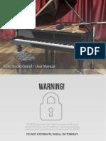8DIO Studio Piano - User Manual