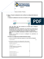 Practica Configuración Basica de Switch