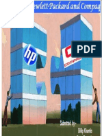 Merger of HP and Compaq