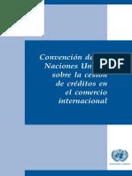 Cesión de Créditos-Comercio Internacional