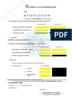 CFLGA Certification
