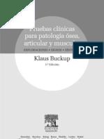 Pruebas Clinicas Articulares y Musculares