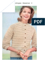 Knitting Cardigan Sweater