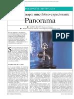 Mucolíticos y Expectorantes_Revista de Farmacia Profesional