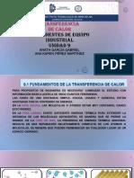 UNIDAD 9 TRANSFERENCIA DE CALOR.pptx