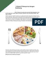 Ganti Makanan 4 Sehat 5 Sempurna dengan Pedoman Gizi Seimbang.docx