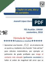 REPASO SERIES DE TAYLOR