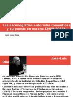José-Luis Díaz Escenografías autoriales romáticas