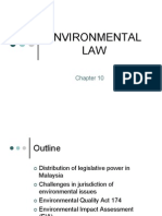 Chapter 10 Environmental Law