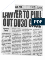 Peoples Journal, Jan. 15, 2020, Lawyer to pull out DU30 case.pdf