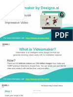 Designs.ai   Videomaker - The Ultimate Guide To Make An Impressive Video