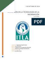Legislación en la Tecnologías de la Información