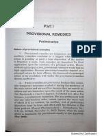 Provisional Remedies