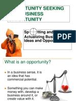 OPPORTUNITY SEEKING-PPT