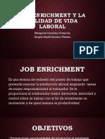 Job enrichment y la calidad de vida laboral