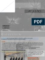 REVERBERATION TIME - Acoustics.pptx