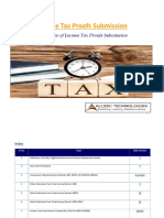 Indian Tax Proof Guidelines FY2019-20