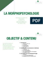 LA MORPHOPSYCHOLOGIE - INTRODUCTION A LA SCIENCE DE L OBSERVATION - DIAPORAMA (102 pages - 11,9 mo)