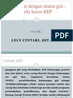 IV. Efek Obat dengan status gizi pada kasus KEP - Copy.pptx