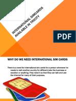 INTERNATIONAL SIM.ppt