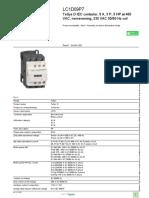 TeSys D Contactors_LC1D09P7