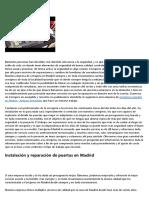 3287005 Cosas que todo el mundo se equivoca sobre cerrajeros Madrid economicos