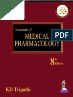 Tripathi padh liya varna ludko ge Eseessttiaal of Medl Pharmmmacollllogyyyy 8th Edition.pdf