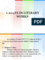 5. Values in Literary Work 97-03