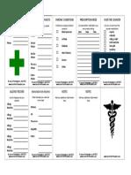 Wallet_Medical_Information_Card