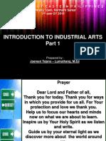 Introduction to IA Part 1 joe T-L