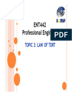ENT442 LAW 3 Law_of_Tort