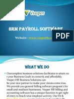 Online Payroll Software Dubai UAE - Vsuperhr
